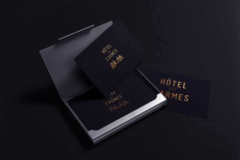 Hôtel des Carmes Business Card