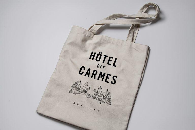 Hôtel des Carmes Tote Bag
