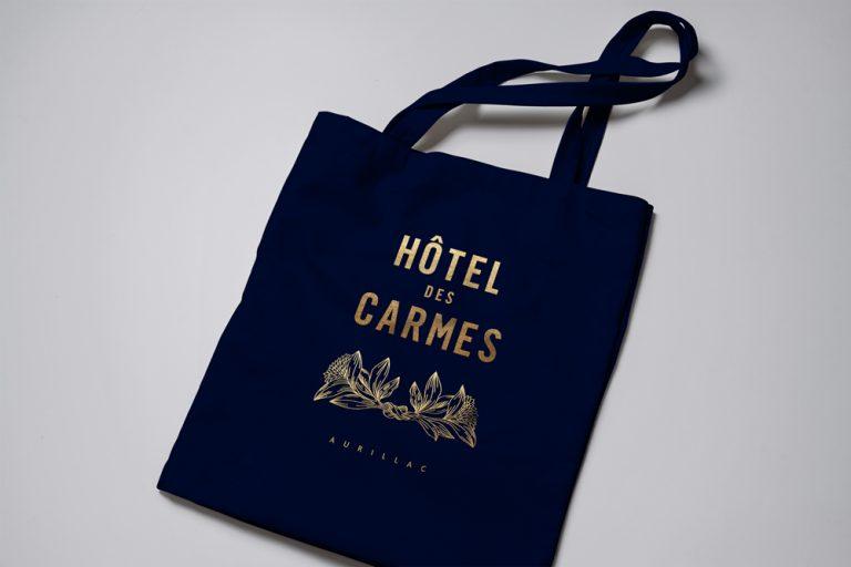 Hotel des Carmes Totebag Gold